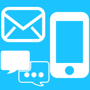 Contact us device icons